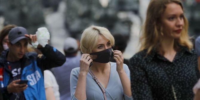 Rusya'da son 24 saatte 5 bin 189 yeni koronavirüs vakası