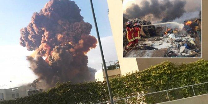 Beyrut'ta çok şiddetli patlama: 63 ölü, 2 bin 700 yaralı