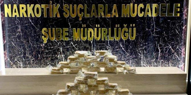 Bitlis'te 24 kilo eroin ele geçirildi