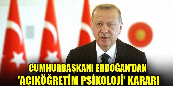 Merakla beklenen rapor sunuldu! Cumhurbaşkanı Erdoğan'ın kararı belli oldu