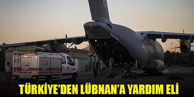 Türkiye'den Lübnan'a yardım eli uzandı