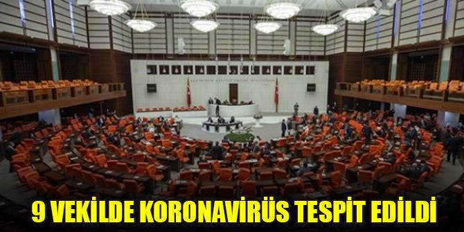 TBMM'de 9 vekilde koronavirüs tespit edildi