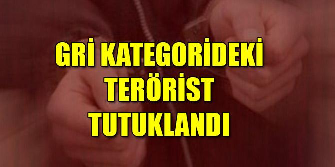 Gri kategorideki terörist Hatay'da tutuklandı