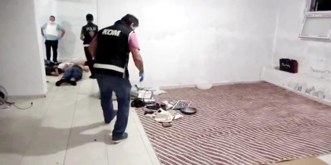 Gaziantep'te sahte içki operasyonu: 5 gözaltı