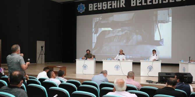 Beyşehir Belediyesi'nin ağustos ayı meclis toplantısı yapıldı