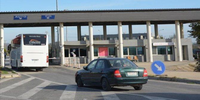 Yunanistan sınır kapısını 8 saat süreyle kapatacak