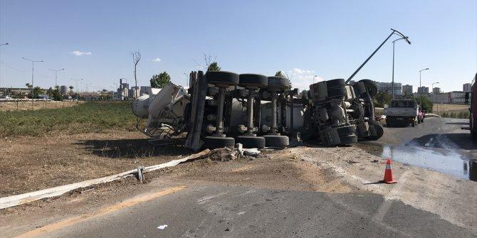 Başkentte beton mikseri devrildi 1 kişi öldü