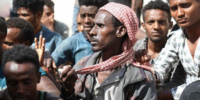 Yemen'de 6 ayda 7 bin düzensiz göçmen yakalandı