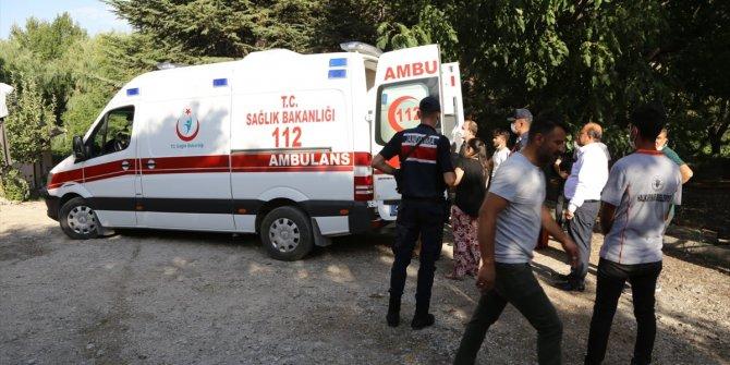 Konya'da HES kanalına düşen çocuk jandarma ve 112 ekiplerince kurtarıldı