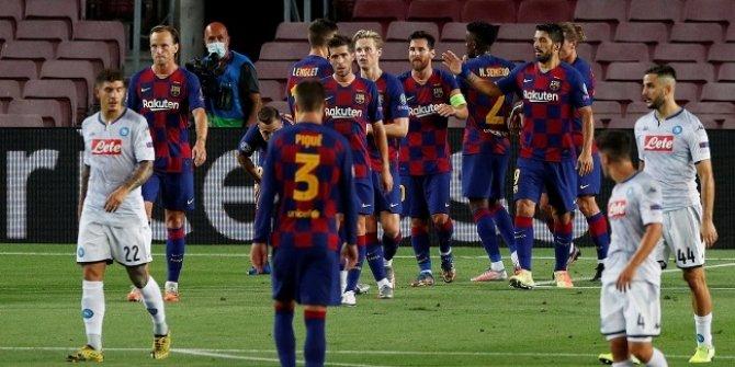 Çakır'ın yönettiği maçta Barcelona çeyrek finale yükseldi