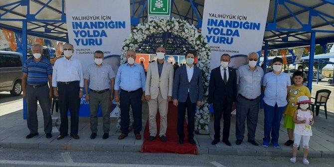 AK Parti Yalıhüyük İlçe Kongresinde Yusuf Pişkin yeniden seçildi