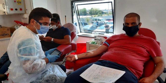 Korona virüs tedavisi görenler kan bağışında bulunabiliyor