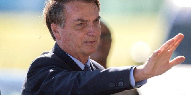 """Brezilya Devlet Başkanı Bolsonaro: """"Amazon'un yandığına dair hikayeler yalan"""""""