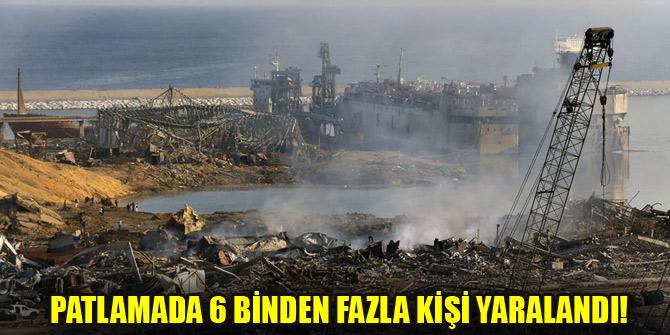 """Lübnan Cumhurbaşkanı Avn: """"Patlamanın yol açtığı maddi hasar 15 milyar doları aşabilir"""""""