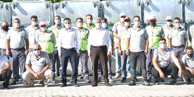 Kulu'nun temizlik ordusu göreve hazır