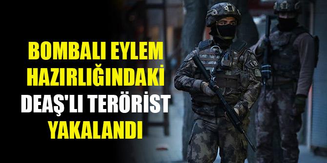 Bursa'da bombalı eylem hazırlığındaki DEAŞ'lı terörist yakalandı
