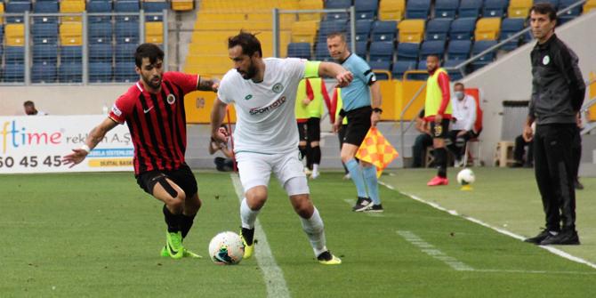 Ali Turan, futbolu Konyaspor'da bırakacak