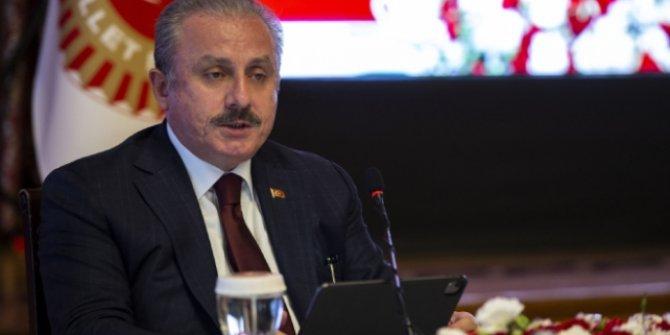TBMM Başkanı Şentop'tan BAE ve İsrail arasındaki anlaşmaya tepki