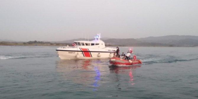 Denize giren bir kişi boğuldu