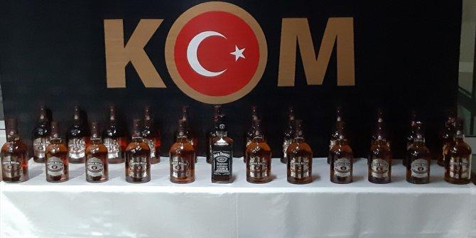 Kastamonu'da kaçak içki operasyonunda iki kişi gözaltına alındı