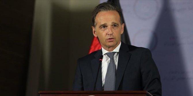 Almanya Dışişleri Bakanı Maas,Serrac ile krize çözüm çabalarını görüştü