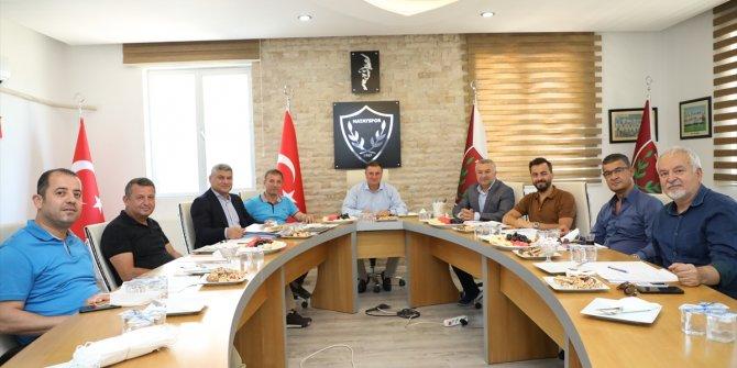 Hatayspor'da yönetim kurulu toplantısı yapıldı