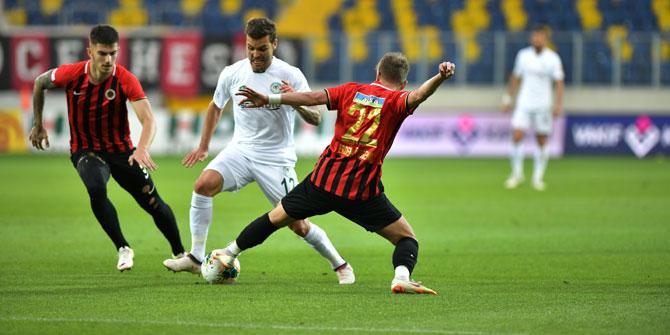 Konyaspor'un hazırlık maçında rakibi Gençlerbirliği