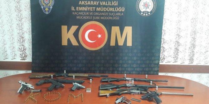 Aksaray'da düğünlerde silahla ateş açan iki kişi gözaltına alındı