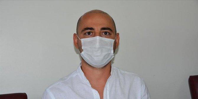 Kovid-19'u yenen yoğun bakım uzmanından 'hastalığı hafife almayın' uyarısı