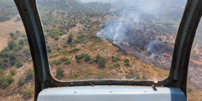 Hatay'da çıkan orman yangınında 1,5 hektar alan zarar gördü