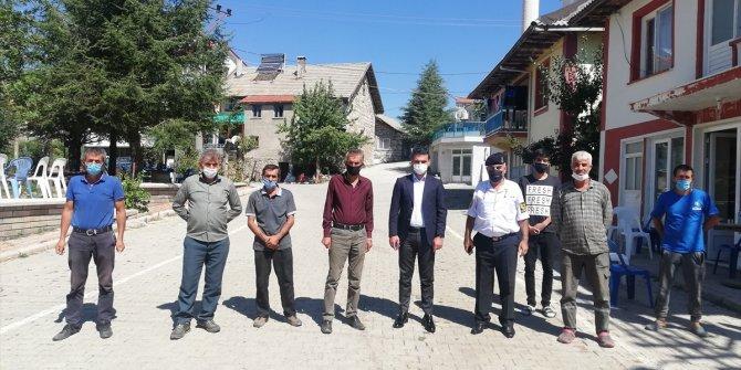 Derebucak'ta dış mahalle ziyaretleri