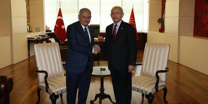 Kılıçdaroğlu'ndan Binali Yıldırım'a 'geçmiş olsun' telefonu