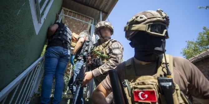 Antalya'da uyuşturucu operasyonlarında 383 şüpheli yakalandı