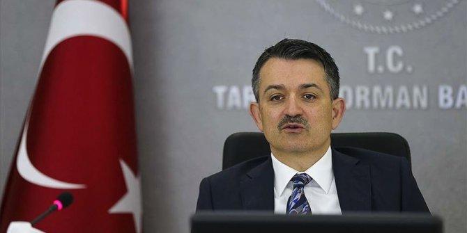 Bakan Pakdemirli: 16,4 milyon lira destek ödemesi cuma günü yapılacak