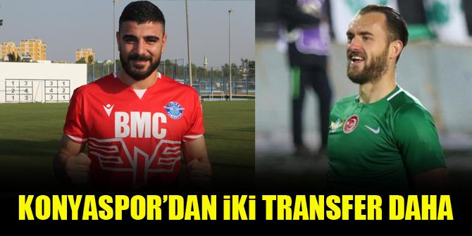 Konyaspor'dan iki transfer daha