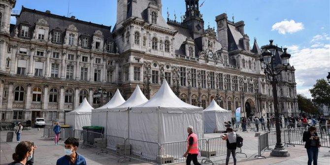 Fransa'da son 24 saatte 7 bin 852 Kovid-19 vakası tespit edildi