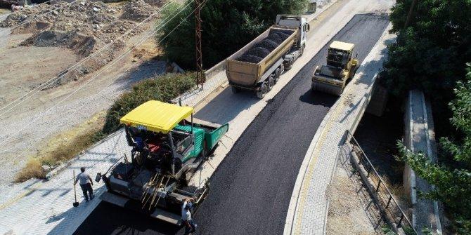 Meram'da yol ve asfaltlama çalışmaları devam ediyor