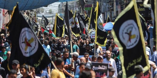 Palestinians rally against recent normalization deals