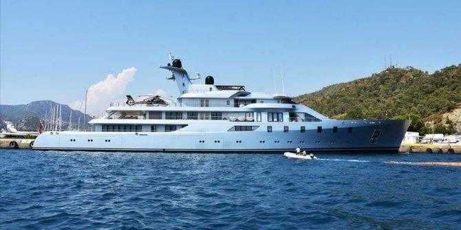 Luksuzna megajahta ruskog milijardera u turskom Marmarisu