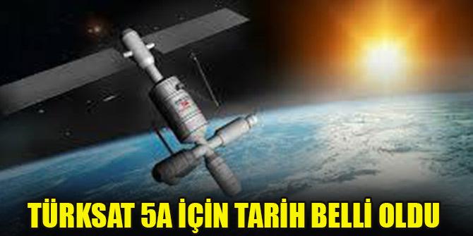 Türksat 5A 30 Kasım'da uzaya fırlatılacak