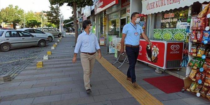 Seydişehir'de Kovid-19 denetimleri