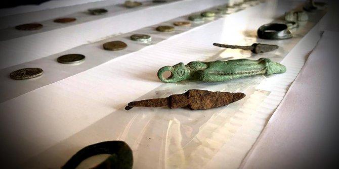 Kırklareli'de 49 parça tarihi eser ele geçirildi