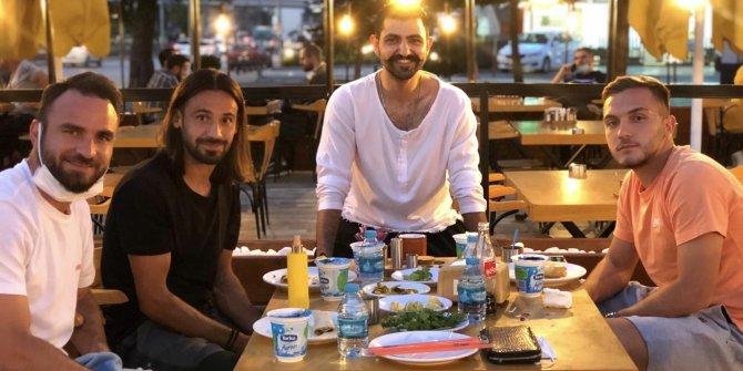 Konyaspor'un futbolcuları Sabri'dende enerji depoladı