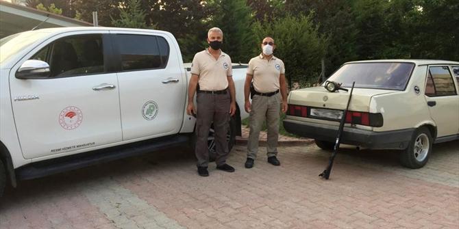 Konya'da far ışığıyla kara avcılığına 11 bin lira ceza
