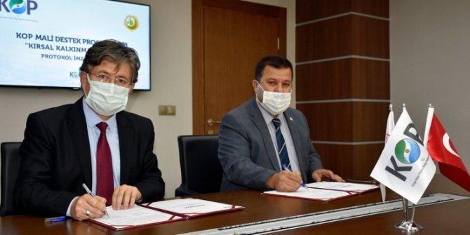 Konya'da erozyonla mücadele işbirliği