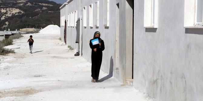 İdlib'de İHH tarafından yetimler için yaptırılan 50 ev teslim edildi