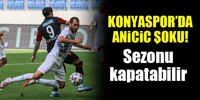 Konyaspor'da Marin Anicic şoku!