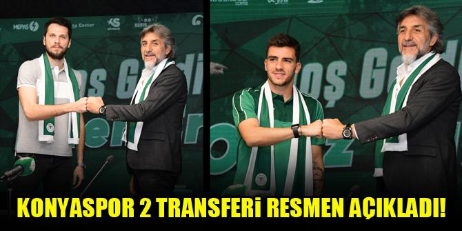 Konyaspor 2 transferi resmen açıkladı!