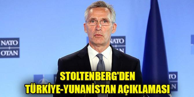 Stoltenberg'den Türkiye-Yunanistan açıklaması