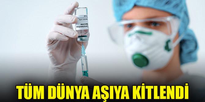 Tüm dünya koronavirüs için geliştirilecek aşıya kitlendi